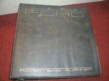 1984 FORD MUSTANG SVO THUNDERBIRD BRONCO RANGER F-150 DEALER ADVERTISING ALBUM