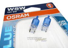2x Osram Cool Blue Xenon Look Birnen Lampen Standlicht T10 W5W E-Prüfzeichen #3