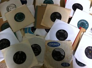 Nice Lot 100 1950/60s 45rpm 17.8cm Vinyle Elvis, Cliff, Orbison, Everlys,