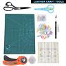Bricolaje Costura Herramientas Kit Para Leathercraft Papel Trabajo Manualidades