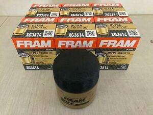 SIX(6) Fram Ultra Synthetic XG3614 Oil Filter CASE fits M1-102A 10-2835 51348XP