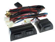 New Universal High Quality 12 Volts Power Window Switch Kit w/ Wire Harness 12V