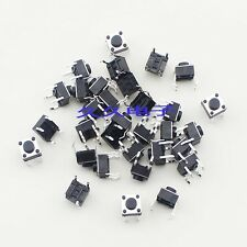 50pcs Micro switch push button 6 * 6 * 5 mm 6x6x5mm NEW
