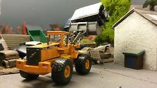 Volvo L150C Wheeled Loader Excavator 1:87 HO/OO/00 Cararama Model Box Damage