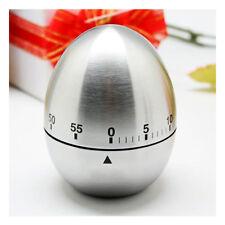 Minuteur 60 Minute Oeuf Chronomètre Compteur Mécanique Alarme Acier Cuisine Outi