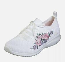 Skechers M Width Floral Athletic Shoes