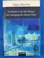 Die Morde in der Rue Morgue / Der Untergang des Hauses Usher von Edgar Allan Poe