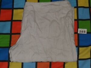 ATMOSPHERE Cream Linen Trousers Size 14, L32