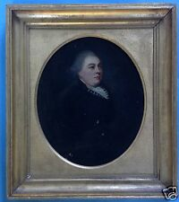 Biedermeier Effigy Portrait Aristocratic Sir Satchwell Frazer of gunwales H. Reaburn ~ 1820