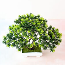 1Pc Artificial Pine Tree Miniascape Wedding Party Home Office Table Bonsai Decor