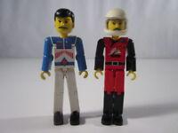 "LEGO - ""LOTE DE 2 FIGURAS DE 9 CM DE LEGO ANTIGUASS"" - LUJO!"