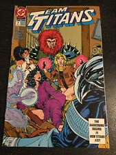 Team Titans#7 Incredible Condition 9.0(1993) Jimenez Art!!