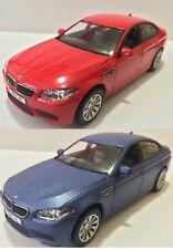 RED & BLUE 1:36 scale RMZ city 2011 12 BMW M5 sedan Diecast car Model 5 inches