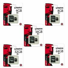 Kingston-Micro-SD-SDHC-memory-Card-16-32-64-128-GB-Class-10-GB-Memory-with-Adapt