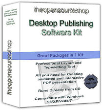Pro Level Microsoft Compatible Desktop Publishing Kit - Create & Edit Graphics