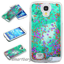 New Sparkle Stars Liquid Quicksand Clear Phone Case Cover For Samsung Galaxy S4