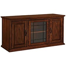 Leick Home 80350 Leaded Glass 50In Tv Stand NEW