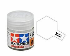 Tamiya Models X-22 Mini Acrylic Paint, Clear