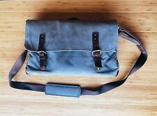 Very Good condition •ONA Union Street Canvas Camera Bag (Smoke)