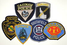LOT 6 GROUP SET TRADERS COLLECTION Sheriff Police Patch 6 DIFFERENT ASSORTED ~