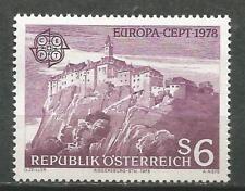 AUSTRIA EUROPA cept 1978 MNH