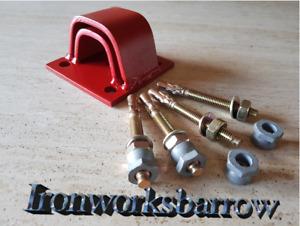 Custom Ground Anchor Lock Chain Garage Outhouse Farm Bike Quad Toys