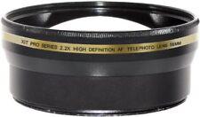 58mm 2.2X HD AF Telephoto Lens for Canon T3i 70D 5D 5D Mark II 5D Mark III