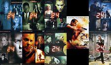 Serie 24 INGLESE Stagioni 1-8 + Redemption, collezione 49 DVD 192 episodi + film