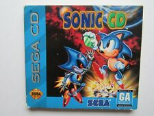 Sonic Sega CD Sleeve/Box Only (No Game) Cardboard Red Version Genesis Saturn