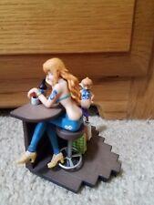 971 Japan Anime Manga One Piece Logbox Nami Mini Figure