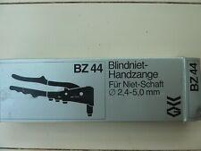 Blindniet - Handzange BZ44 NEU NP 43€ Für Niet - Schaft Ø 2,4-5,0mm
