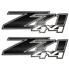 Chevy Z71 4x4 off road Carbon Fiber 2 Decal Chevrolet Silverado Decals Sierra +