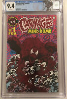 Carnage Mind Bomb #1 CGC 9.4 WHITE PAGES with Limited Edition Venom Label