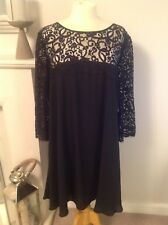 Gorgeous Monsoon Lace Swing Evening Dress Christmas Party Size 20