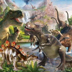 4D Dinosaur Toys Foil Balloon Child Jurassic Jungle Theme Party Birthday Decor