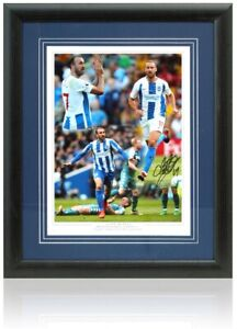 Glenn Murray Hand Signed 16x12'' Framed Brighton & Hove Albion Montage