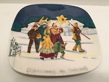 Royal Doulton Christmas In Poland Plate John Beswick Limited Edition # 6457 1977
