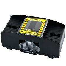 1-2 Decks Shuffling Playing Cards Card Poker Shuffler Automatic Machine N98B