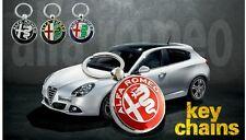 Portachiavi Keychain Logo Alfa Romeo alta qualità MITO 147 GIULIETTA 4 varianti