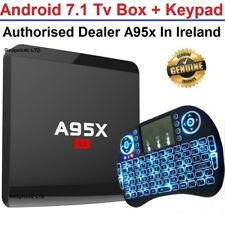 Android 7.1 Smart Tv Box 4KUltra HD Media Player Wifi Quad Core WIFI with Keypad