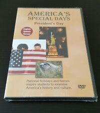 America's Special Days: President's Day (DVD, English / Spanish Version) NEW