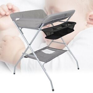 Portable Baby Changer Unit Tables Nursery Changing Station Bath Mat with Storage