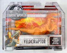 Jurassic World Orange Velociraptor Attack Pack Dinosaur Action Figure Moc 2017