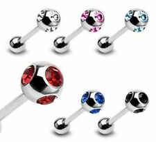 Stainless Steel Tongue Piercing Jewellery