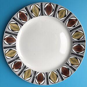 Vintage Kathie Winkle Dinner Plate Mexico  Britamic Pottery 24.5cm Diameter