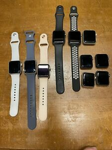 Lot 10 Apple watch series 3 Mix 38mm and 42mm. Only WiFi.