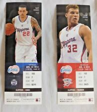 2013-14 Los Angeles Clippers NBA Ticket Unused Pick one