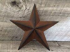 Primitive Metal Barn Star Rust 8 inch Country Rustic Farm Decor