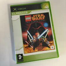 * Original Xbox CLASSIC Game * LEGO STAR WARS THE VIDEO GAME * X Box