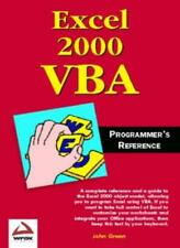 Excel 2000 VBA Programmer's Reference By Green